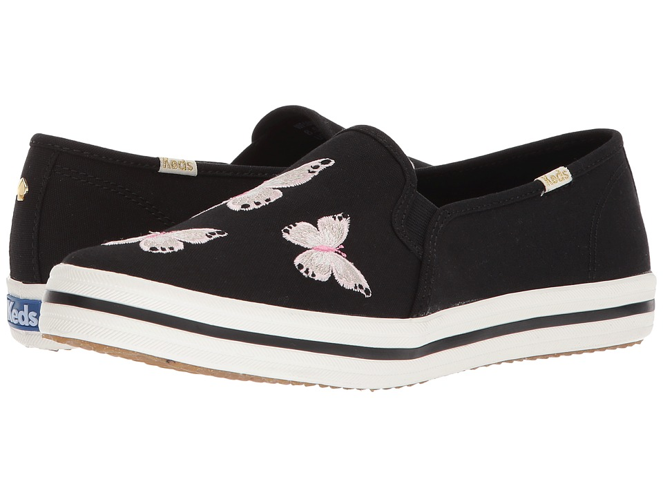 Keds x kate spade new york - Double Decker Butterfly (Black) Womens Shoes