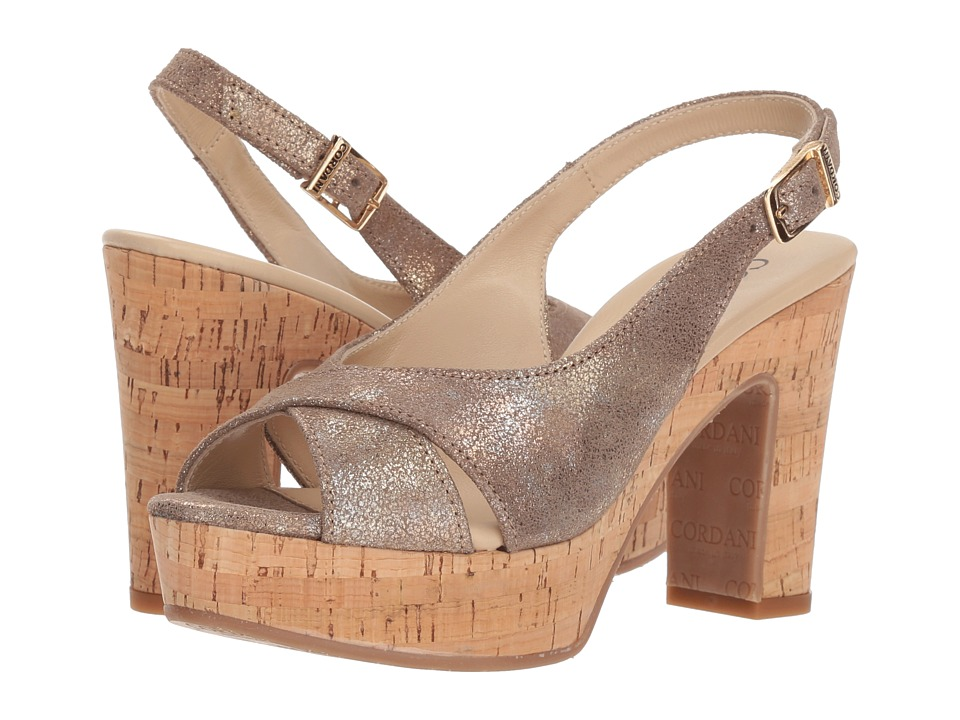 Cordani Tompkins (Dusty Gold) High Heels