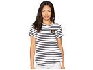 LAUREN Ralph Lauren LAUREN Ralph Lauren Petite Bullion-Patch Striped T-Shirt