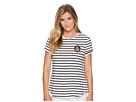 LAUREN Ralph Lauren Bullion-Patch Striped T-Shirt