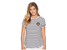 LAUREN Ralph Lauren LAUREN Ralph Lauren Bullion-Patch Striped T-Shirt