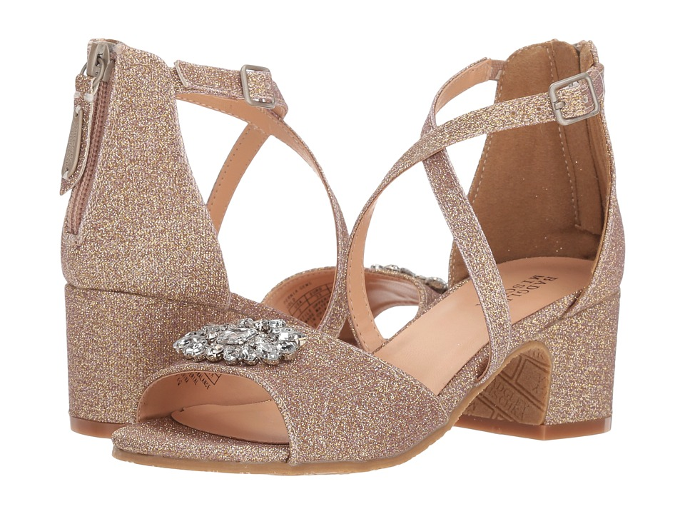 Badgley Mischka Kids - Pernia Gems (Little Kid/Big Kid) (Rose Gold) High Heels