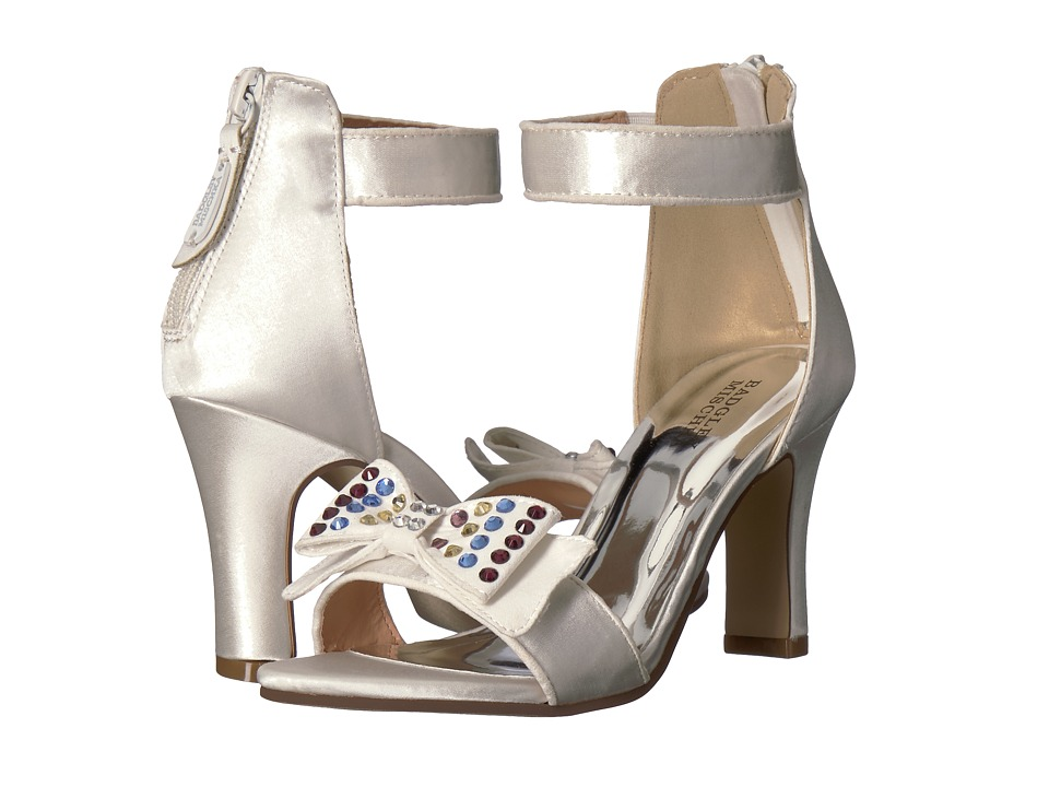Badgley Mischka Kids - Kendall Multi Bow (Little Kid/Big Kid) (White Multi) High Heels
