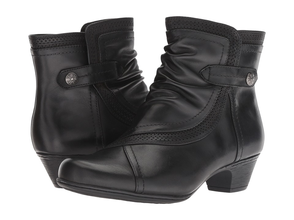 Rockport Cobb Hill Collection Cobb Hill Abbott Panel Boot (Black Leather)