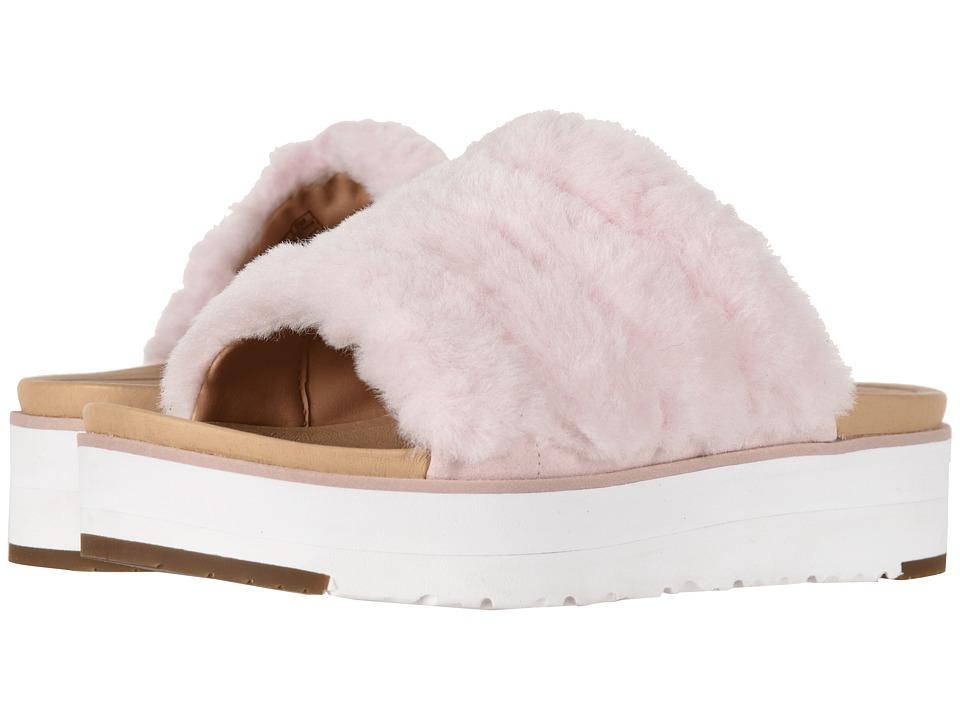 UGG Fluff Yeah Sandal (Seashell Pink) Slides