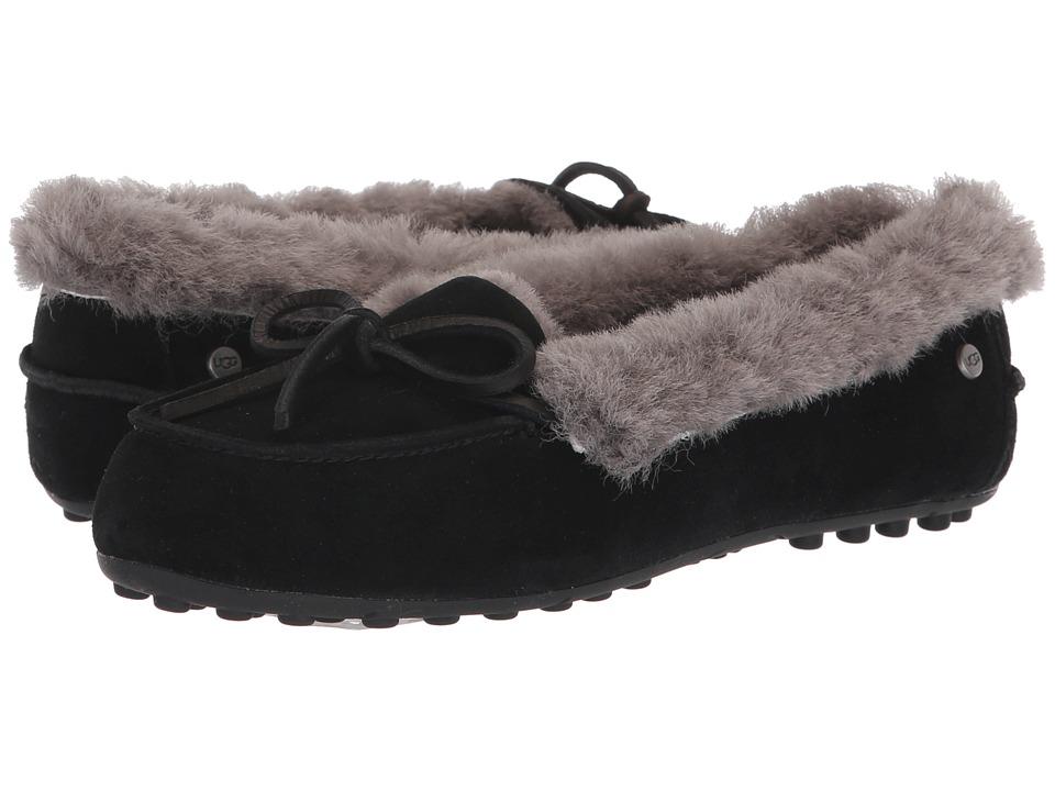UGG Solana Loafer (Black) Slip-On Shoes