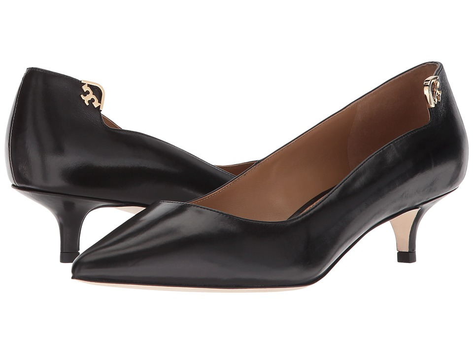 Tory Burch Elizabeth 40mm Pump (Perfect Black) Women's Shoes