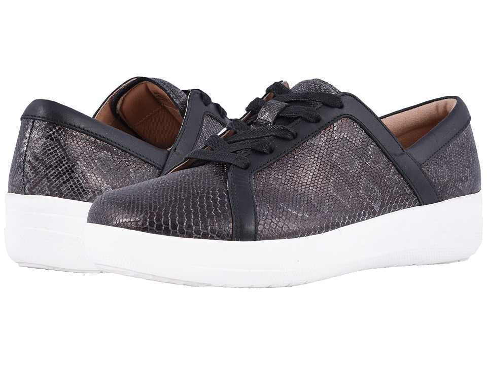 FitFlop - F-Sporty II Python Print (Black) Womens  Shoes