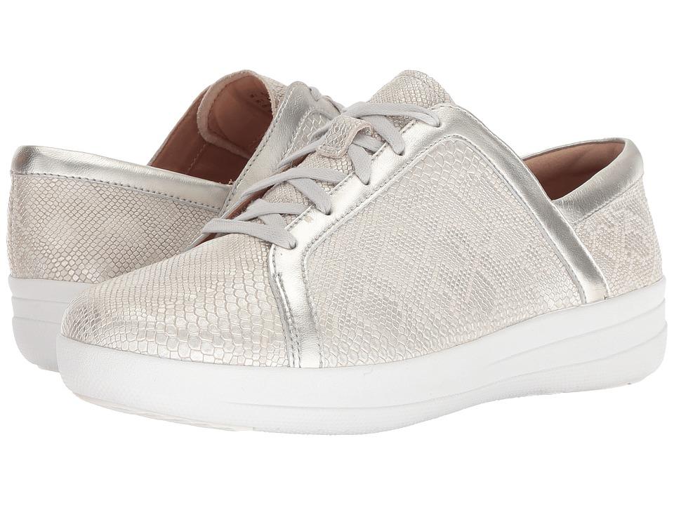 FitFlop F-Sporty II Python Print (Urban White) Women's Shoes