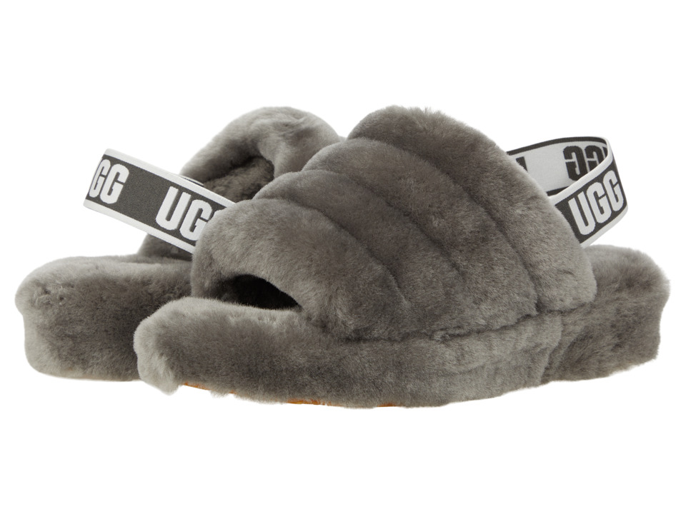 UGG Fluff Yeah Slide (Charcoal) Slippers