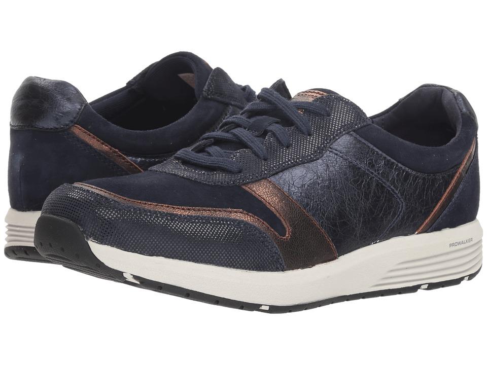 Rockport TruStride Ubal (Blue Leather) Women's Shoes