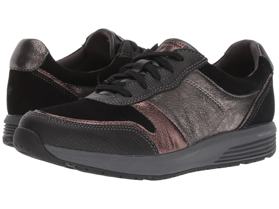 Rockport TruStride Ubal (Black Leather) Women's Shoes