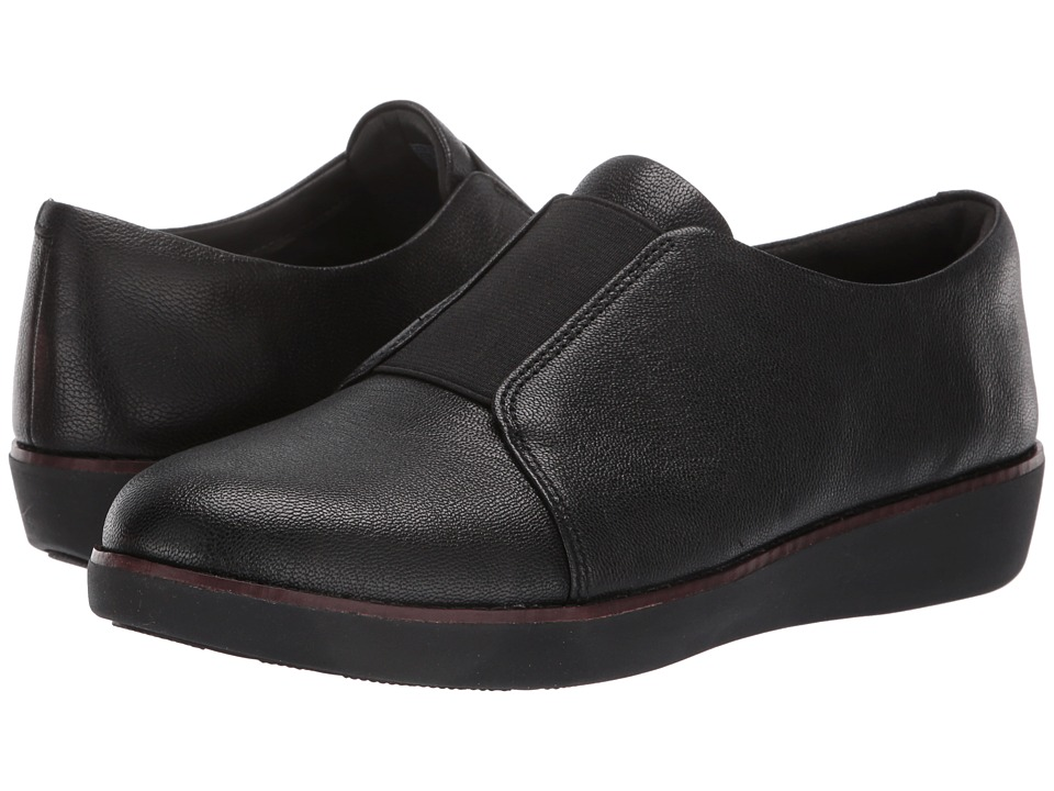FitFlop Laceless Derby (Black) Women's Shoes