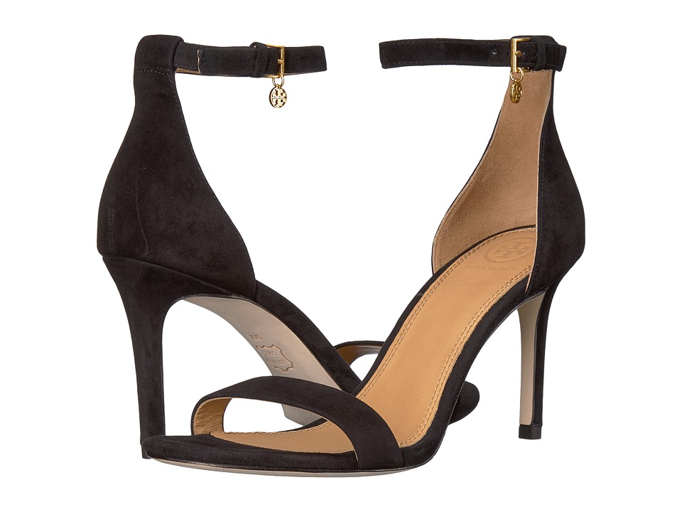 Tory Burch Ellie 85mm Ankle-Strap Sandal (Perfect Black) Women