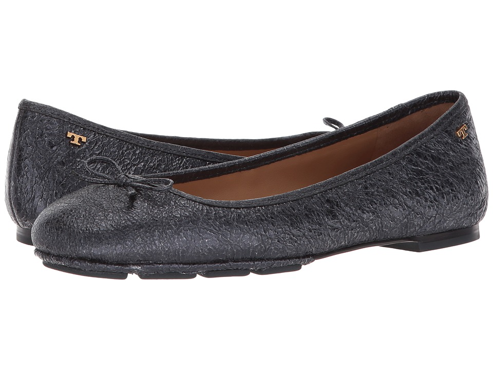 Tory Burch Laila 2 Driver Ballet (Navy/Perfect Navy) Wome...