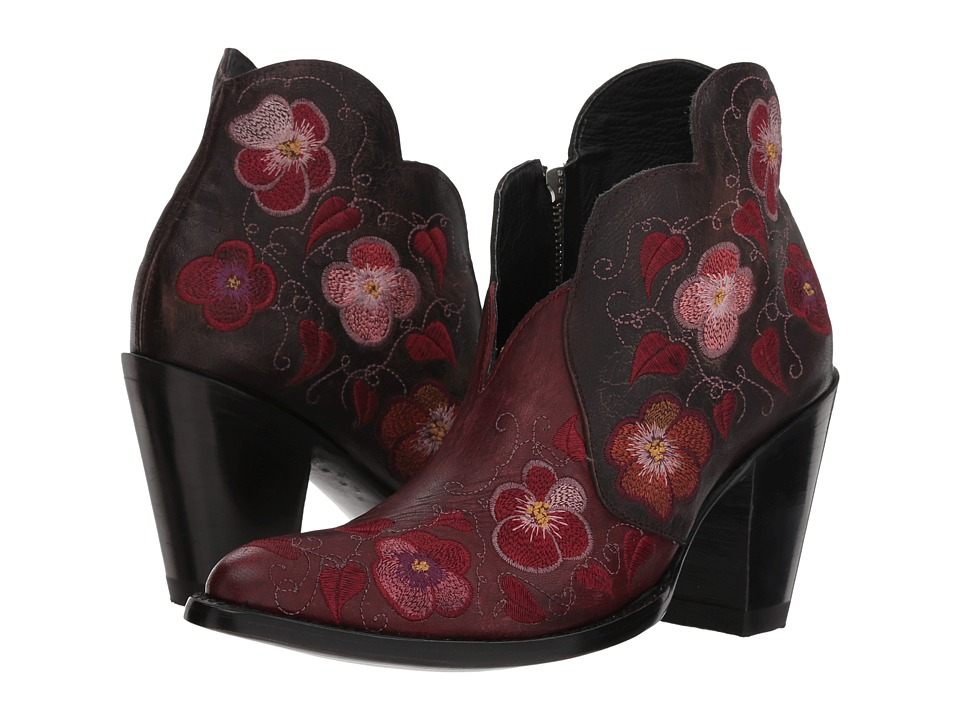 Old Gringo Pansy II (Red/Chocolate) Cowboy Boots