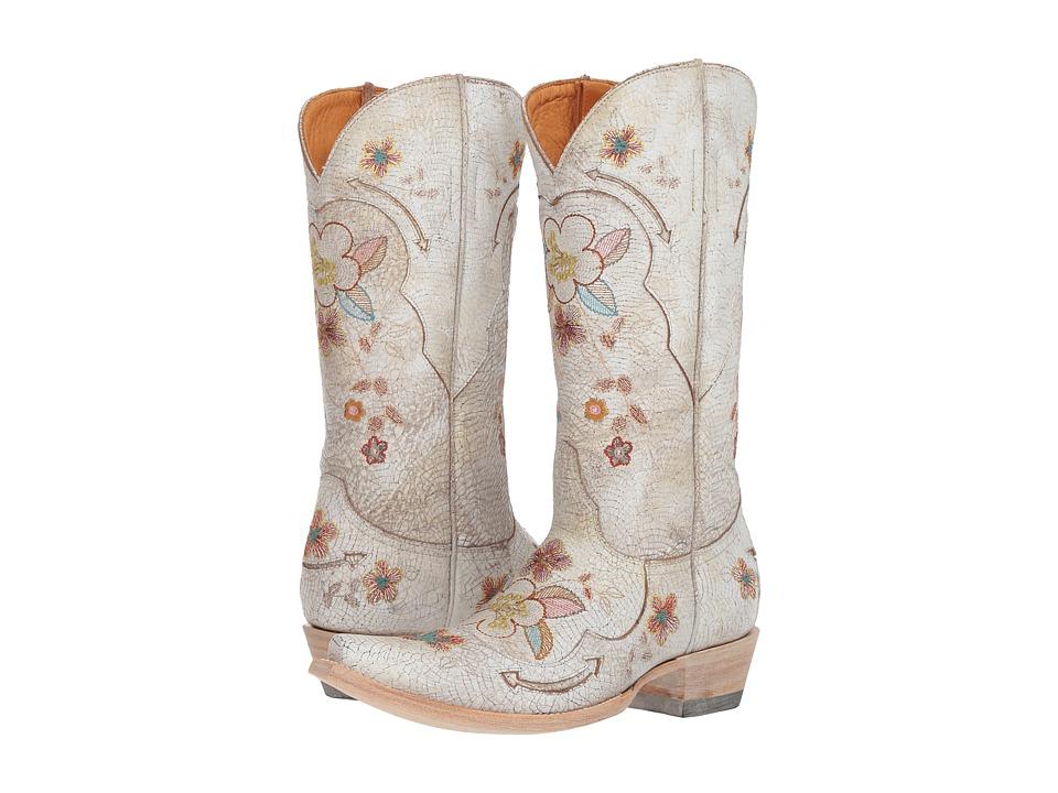 Old Gringo - Bonnie 13 (Milk) Cowboy Boots