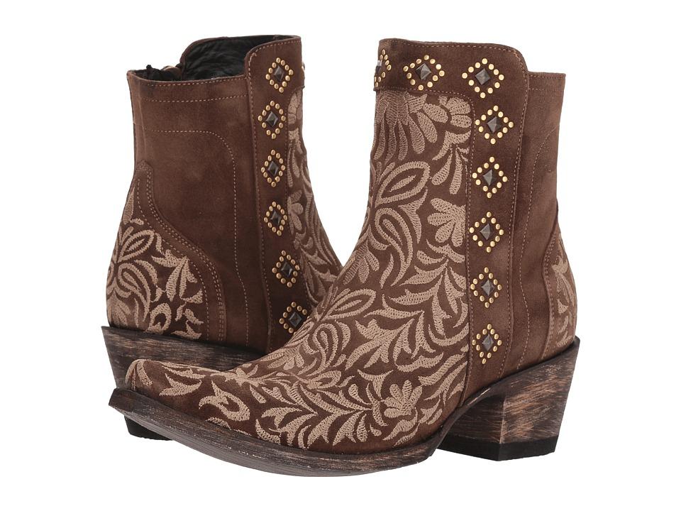Old Gringo Wink (Suede Brown) Cowboy Boots