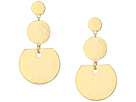 French Connection French Connection 3 Disc Drop Earrings