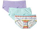 Lucky Brand Kids Multi Stripe 3-Pack Hipster (Little Kids/Big Kids)