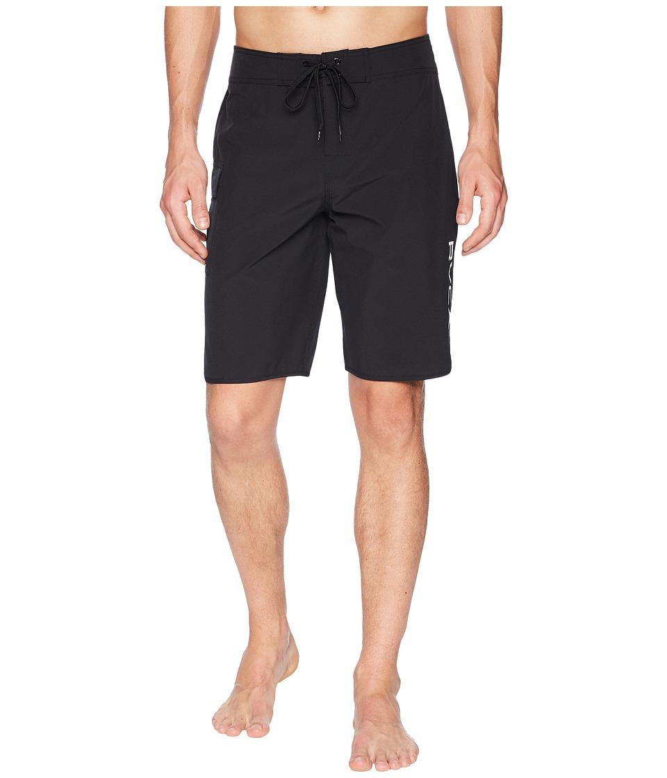 RVCA - Eastern 20 Trunk (All Black) Mens Swimwear