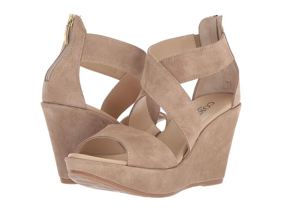Cordani Ravi (Corda Suede) Women's Wedge Shoes