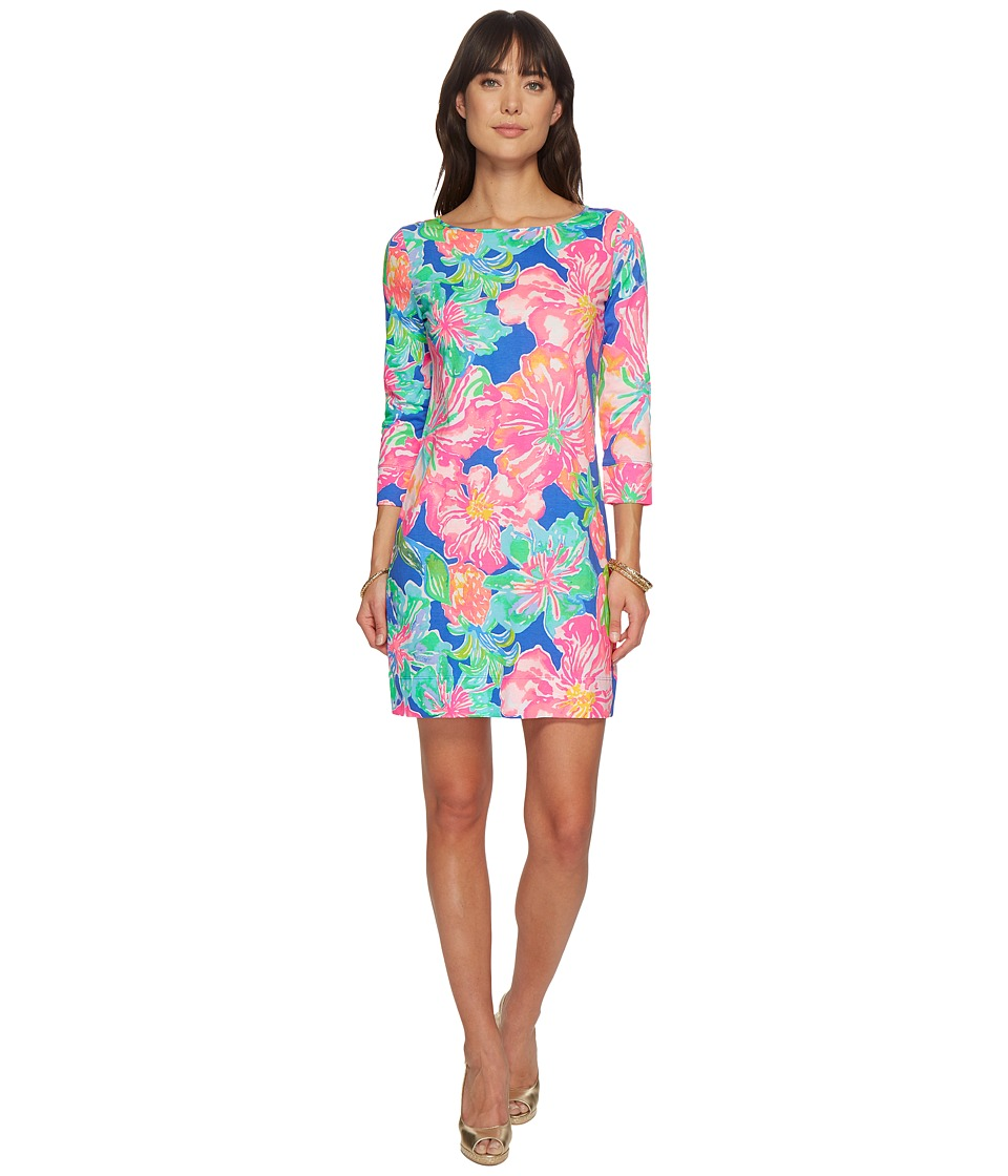Lilly Pulitzer - Marlowe Dress (Beckon Blue Jungle Utopia) Womens Dress