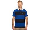 Nautica Short Sleeve Rugby Stripe Polo