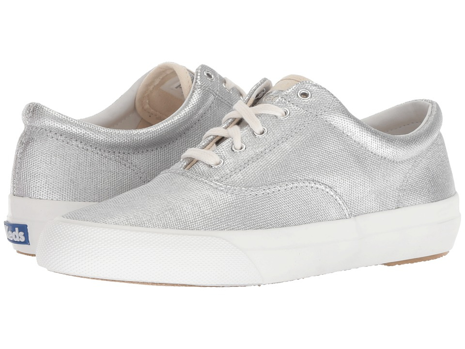 Keds Anchor Matte Brushed Canvas (Silver)