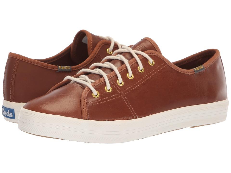 Keds Kickstart Leather (Cognac)