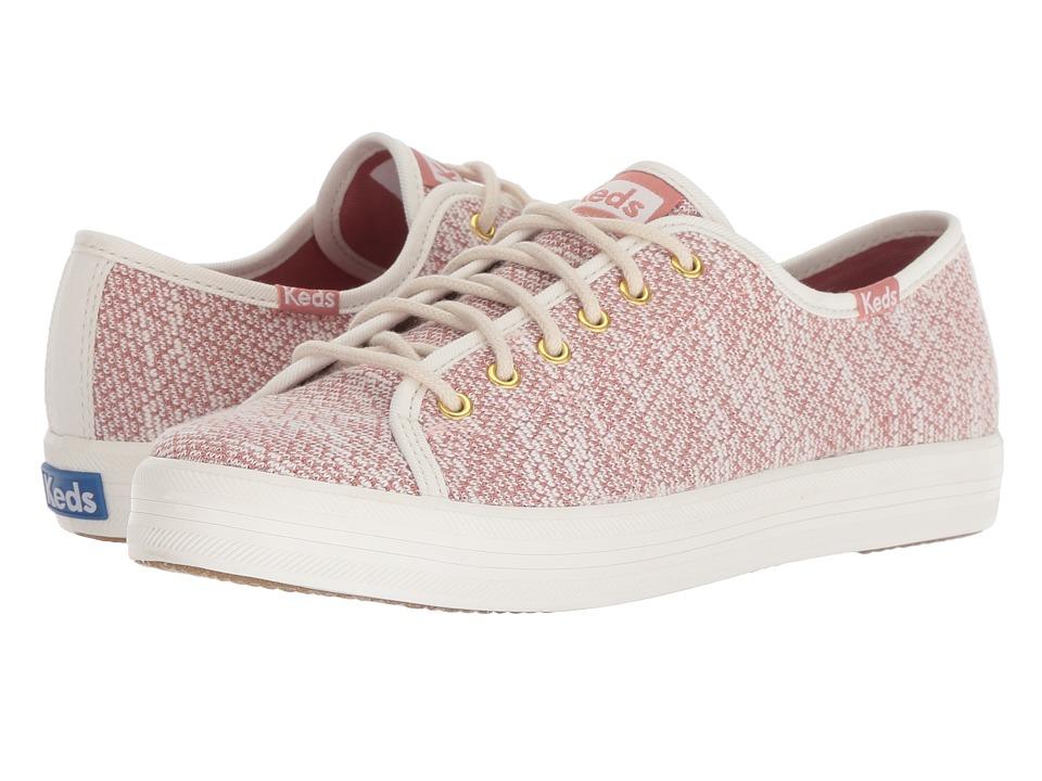 Keds Kickstart Hygge Knit (Cream/Rose)