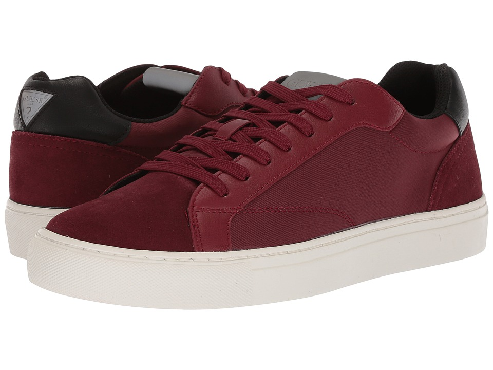 GUESS - Baez (Red Synthetic) Mens Shoes
