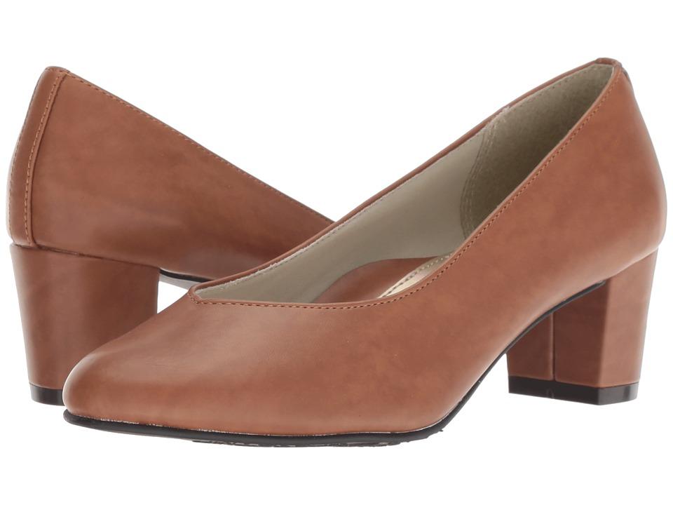 Soft Style Gracee (Tan Vitello) 1-2 inch heel Shoes