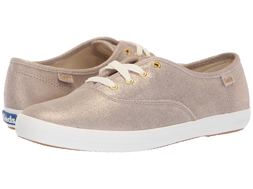 Keds Champion Glitter Suede (Champagne)