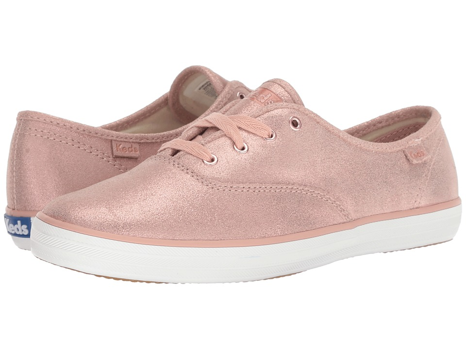 Keds Champion Glitter Suede (Rose)