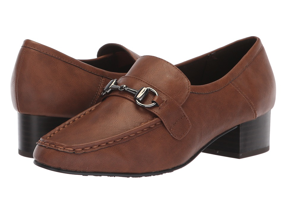 Soft Style Ginny (Mid Brown) 1-2 inch heel Shoes
