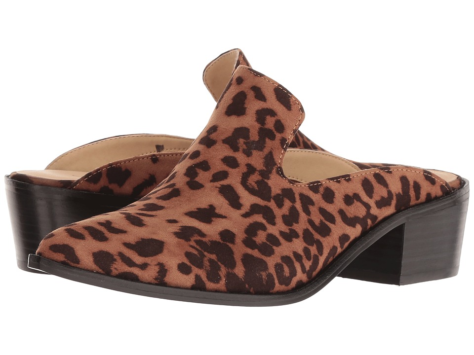 Chinese Laundry - Marnie - Zappos Exclusive (Tan Leopard) Womens Slip on  Shoes