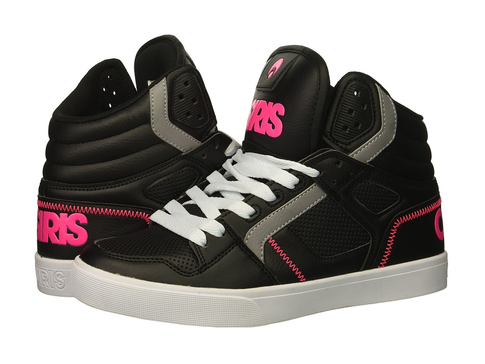 Osiris Clone (Black/Pink/White) Women's Skate Shoes