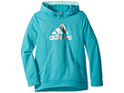 adidas Kids Performance Hooded Sweatshirt (Big Kids)