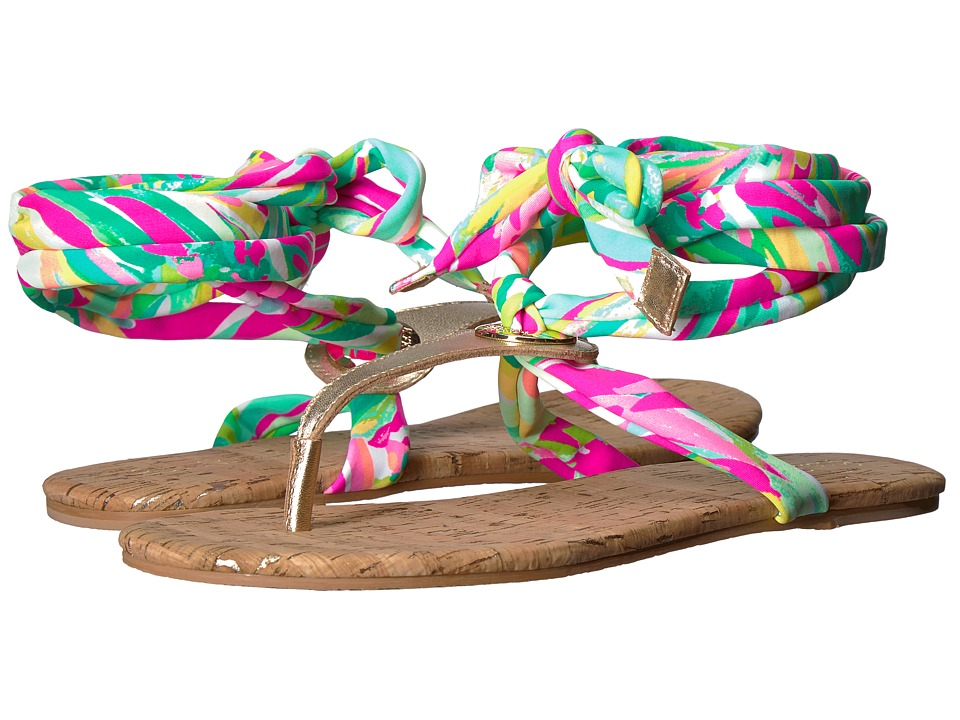 Lilly Pulitzer Harbor Sandal (Multi Shady Lady) Sandals