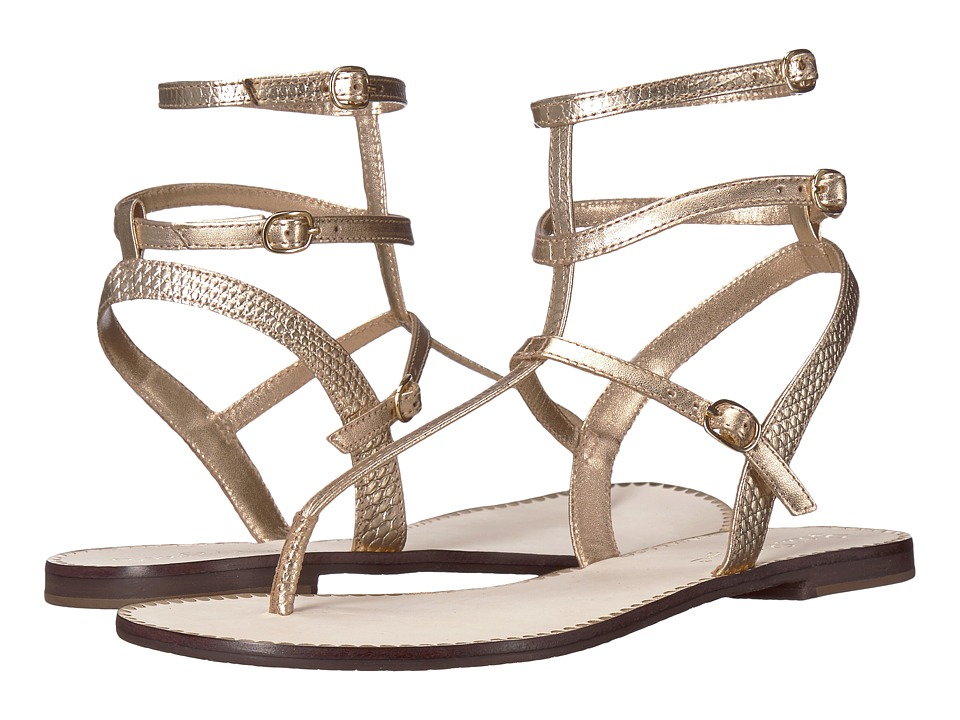 Lilly Pulitzer - Gemma Sandal (Gold Metallic) Women's Sandals