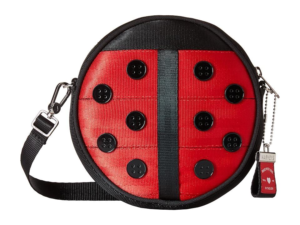 Harveys Seatbelt Bag - Mini Circle Bag (Lady Luck) Handbags