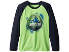 adidas Kids Logo Sport Ball Tee (Little Kids)