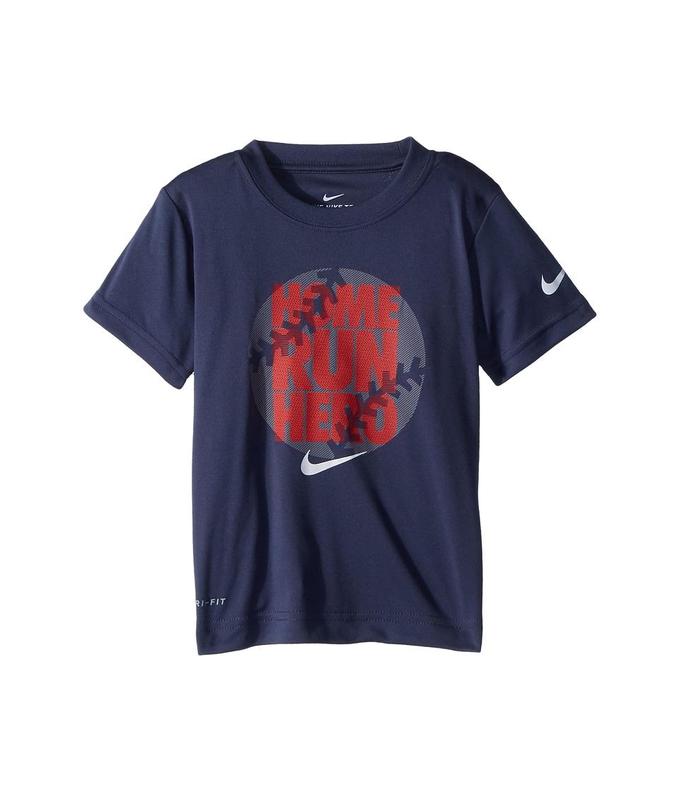 Nike Kids - Dri-FIT Short Sleeve Tee (Toddler) (Thunder Blue) Boys T Shirt
