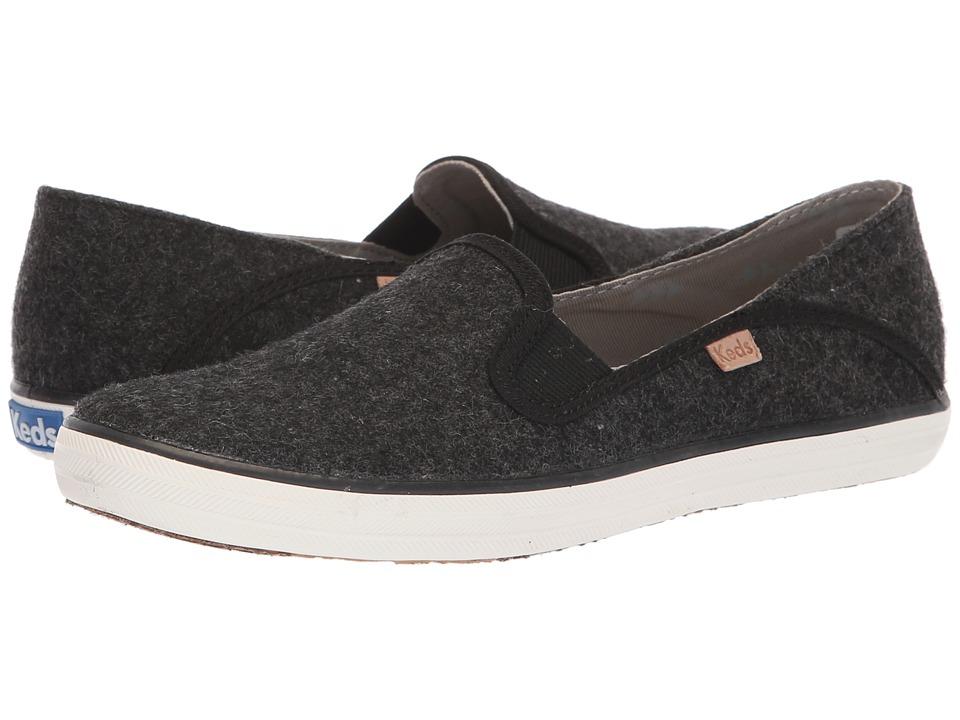Keds Crashback Felt (Charcoal) Slip-On Shoes