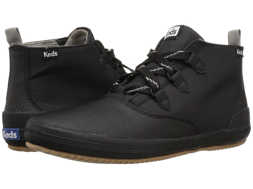 Keds Scout Chukka Splash Twill Wax (Black) Slip-On Shoes