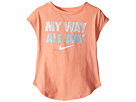 Nike Kids I Want It All Modern Short Sleeve Tee (Toddler)
