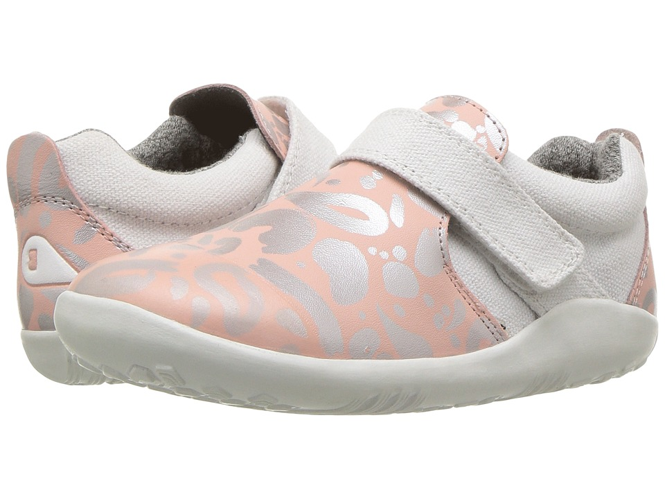 Bobux Kids - I-Walk Aktiv Abstract (Toddler) (Silver/Pink) Girls Shoes