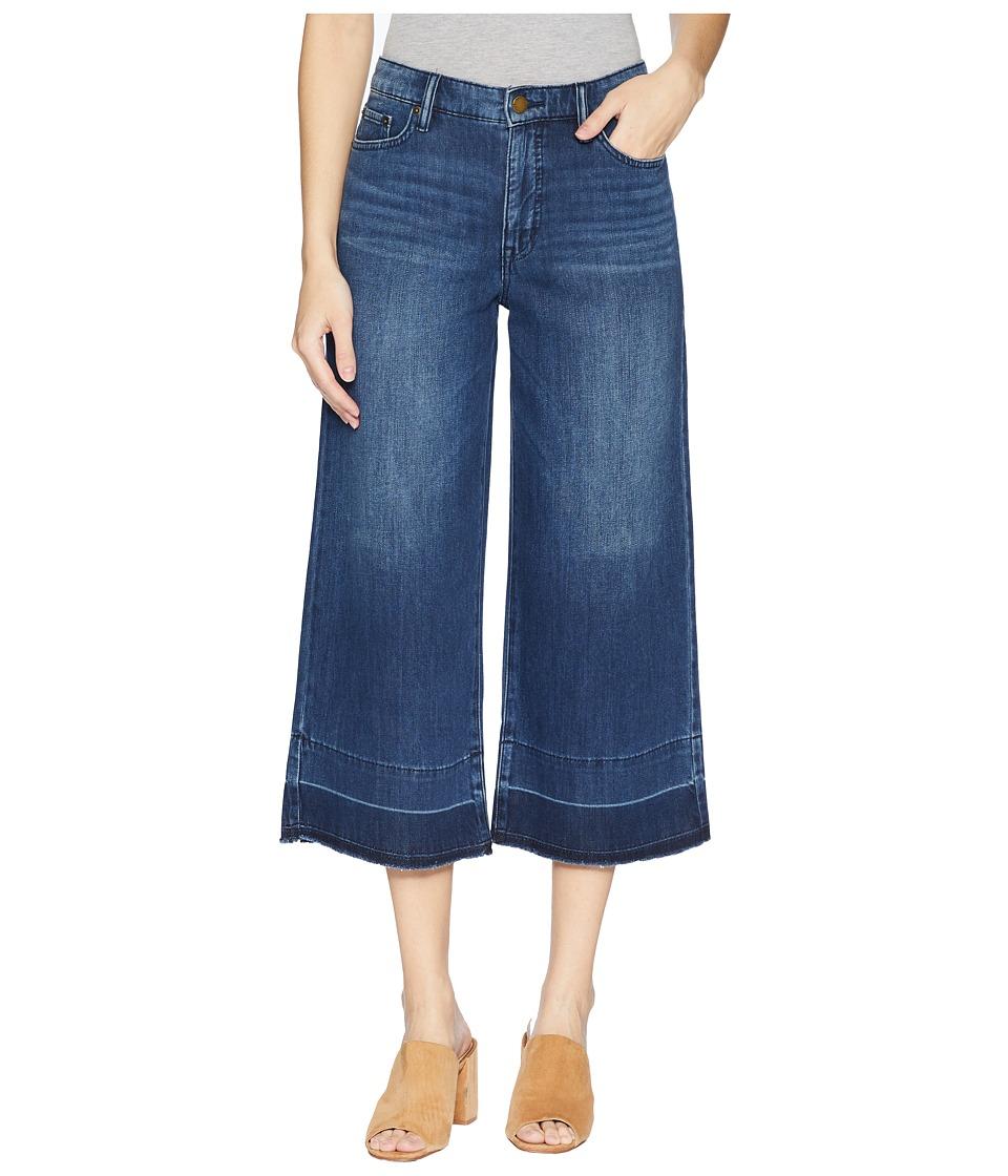 LAUREN Ralph Lauren - Cropped Flare Jeans (Horizon Blue Wash) Womens Jeans