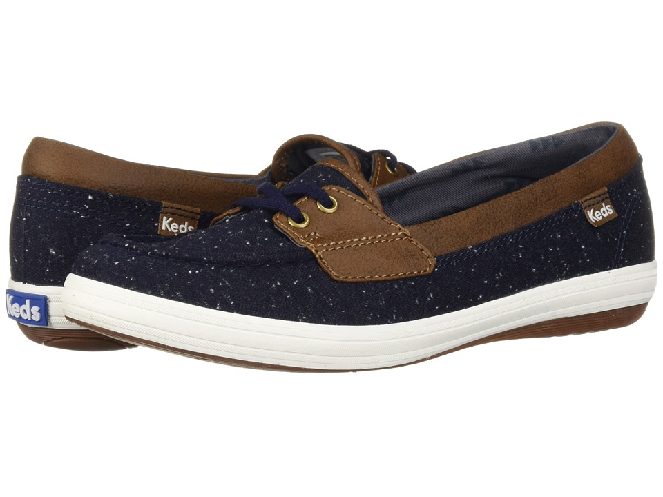 Keds Glimmer Speckled Knit (Peacoat)